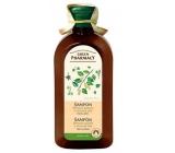 Green Pharmacy Birch buds and castor oil shampoo against dandruff 350 ml