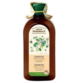 Green Pharmacy Birch buds and Castor oil anti-dandruff shampoo 350 ml