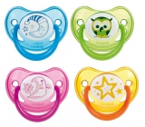 Canpol pacifier silicone. anatomist. 0-6m Night Dreams 5005
