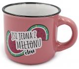 Nekupto Mini mug You are one of a million / melon 80 ml 002