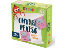 Albi Kvído Clever memory game - Animal family recommended age 4+