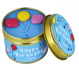 Bomb Cosmetics Happy Birthday - Happy Birthday Scented natural, handmade candle in a tin can burns up to 35 hours