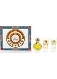 Versace Eros pour Femme eau de toilette for women 50 ml + body lotion 50 ml + shower gel 50 ml, gift set