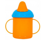 First Steps Mug with two handles orange 260 ml