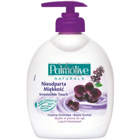 Palmolive Naturals Black Orchid liquid soap with a 300 ml dispenser