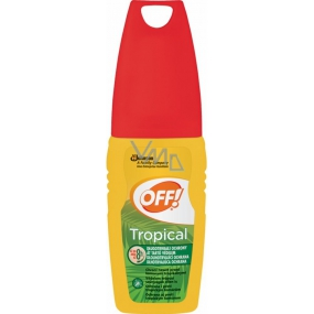 Off! Tropical repellent product sprayer 100 ml