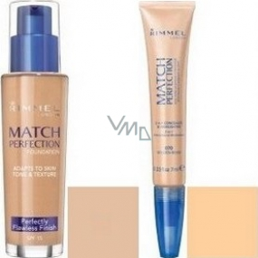 Rimmel London Match Perfection make-up 103 30 ml + concealer 010 7 ml