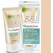 Garnier Skin Naturals Pure Active BB cream krém proti nedokonalostem 5v1 SPF15 light 50 ml