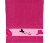 Albi Towel Perfect woman pink 90 x 50 cm