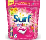 Surf Color Tropical Lily & Ylang Yin 2in1 capsules for washing colored laundry 14 doses