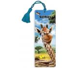 Prime3D bookmark - Giraffe 5.7 x 15.3 cm