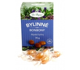 Dr. Popov Herbal candies Alpine herbs for healthy snacking, containing extract from 21 alpine medicinal plants 70 g