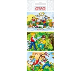 Ovo Foil for eggs Welcome spring 1 pack = 9 images (shrink shirts)