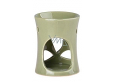 Aromalampa 70x90mm ceramic green 8139