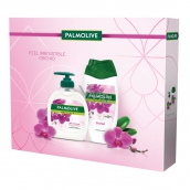 Palmolive Natur Orchid shower gel for women 250 ml + liquid soap 300 ml, cosmetic set