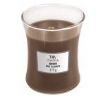 WoodWick Humidor - Cigar case scented candle with wooden wick and lid glass medium 275 g