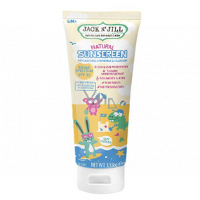Jack N Jill BIO Sunscreen SPF30 natural sunscreen with soothing chamomile and marigold extract for children 100 g