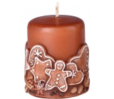 Emocio Gingerbread Gingerbread scented candle cylinder 50 x 60 mm