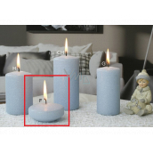 Lima Ice pastel candle light blue floating lens 70 x 30 mm 1 piece