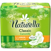 Naturella Classic Normal sanitary pads with chamomile 10 pieces