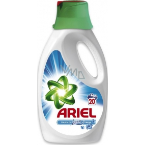 Ariel Touch of Lenor Fresh liquid detergent 20 doses of 1.3 l