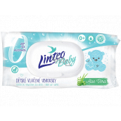 Linteo Baby Aloe Vera wet wipes for children 80 pieces