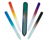 Abella Double-sided glass file LUX 14 cm various colors 1 piece