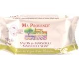 Ma Provence Bio Květy vinné révy Pravé Marseille toaletní mýdlo 75 g