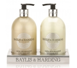 Baylis & Harding Jojoba, Silk and Almond Oil liquid soap + hand lotion 2 x 500 ml