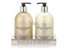 Baylis & Harding Jojoba, Silk & Almond Oil Liquid Soap + Milk on Hand 2 x 500 ml