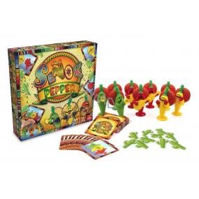 Cool Games Senor Pepper Family game for 2 to 5 players, recommended age from 7 years