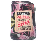 Albi Foldable bag with zipper in the purse named Sarka 42 x 41 x 11 cm