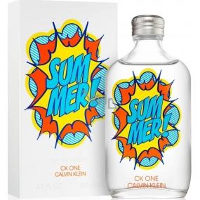 Calvin Klein CK One Summer 2019 eau de toilette unisex 100 ml