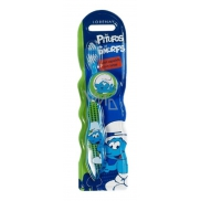 Disney Smurf soft toothbrush with cap for kids