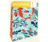 Nekupto Gift paper bag luxury 11 x 18 cm Darts Christmas WLFS