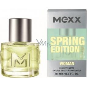Mexx Spring Edition 2012 Woman EdT 20 ml eau de toilette Ladies