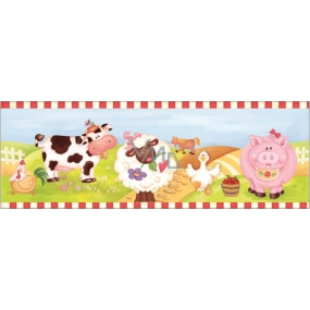 Room Decor Wall sticker listel farm 48 x 15.5 cm 3 pieces