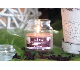 Lima Aroma Dreams Coffee aromatic candle glass with lid 120 g