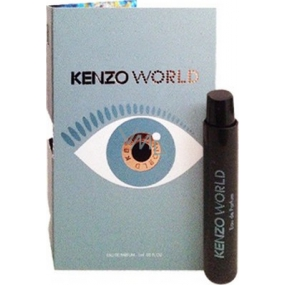 Kenzo World EdT 1 ml Women's scent water spray, Vialka