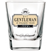 Nekupto League of True Gentlemen Whiskey Gentleman is a matter of choice 7 x 7 x 9 cm