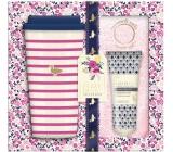 Baylis & Harding Forest bell and Flower meadow travel mug + super soft pink socks + foot milk 50 ml, gift set
