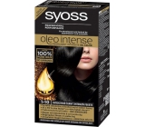 Syoss Oleo Intense Color Ammonia Free Hair Color 1-10 Intensive black