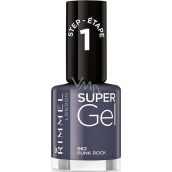Rimmel London Super Gel lak na nehty 062 Punk Rock 12 ml