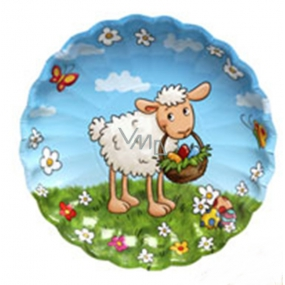 Ditipo Paper plate Easter Sheep 22 cm