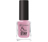 Dermacol 5 Day Stay Long Lasting Nail Polish 10 Milk Shake 11 ml