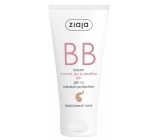 Ziaja BB SPF 15 cream for normal, dry and sensitive skin 03 Dark 50 ml