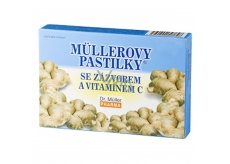 Müller lozenges with ginger 12pcs