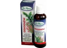Dr. Popov Drainage of the original herbal drops help to eliminate water from the body and contribute to normal kidney and urinary tract activity 50 ml