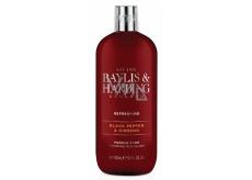 Baylis & Harding Black pepper and Ginseng bath foam for men 500 ml