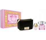 Versace Bright Crystal EdT 90 ml Eau de Toilette + 10 ml Eau de Toilette + Gift Bag